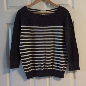 Loft Striped Sweater